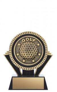"Apex Golf, 5"" Black/Gold"