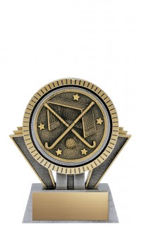 "Apex Field Hockey, 5"" Antique Silver/Gold"
