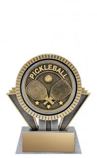 "Apex Pickleball, 5"" Antique Silver/Gold"