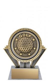"Apex Golf, 5"" Antique Silver/Gold"