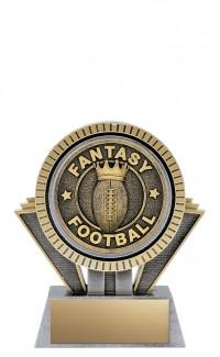 "Apex Fantasy Football, 5"" Antique Silver/Gold"