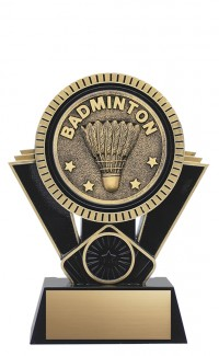 "Apex Badminton, 6"" Black/Gold"