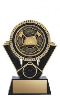 "Apex Firefighter, 6"" Black/Gold"