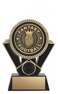 "Apex Fantasy Football, 6"" Black/Gold"