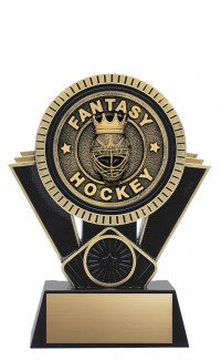 "Apex Fantasy Hockey, 6"" Black/Gold"