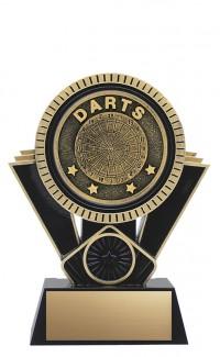 "Apex Darts, 6"" Black/Gold"