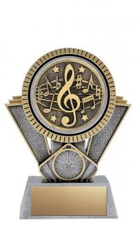 "Apex Music, 6"" Antique Silver/Gold"