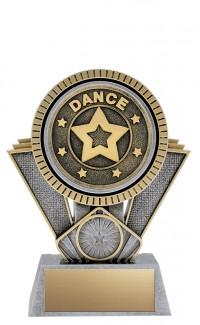 "Apex Dance, 6"" Antique Silver/Gold"
