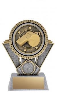 "Apex Coach, 6"" Antique Silver/Gold"
