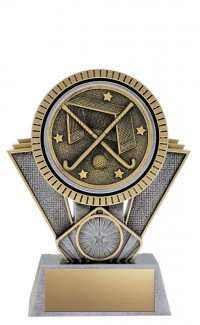 "Apex Field Hockey, 6"" Antique Silver/Gold"