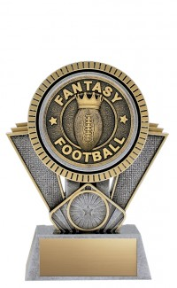 "Apex Fantasy Football, 6"" Antique Silver/Gold"