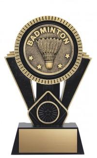 """Apex Badminton, 7"""" Black/Gold"""