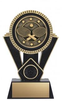 "Apex Table Tennis, 7"" Black/Gold"