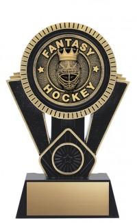 "Apex Fantasy Hockey, 7"" Black/Gold"