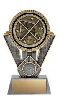 "Apex Field Hockey, 7"" Antique Silver/Gold"