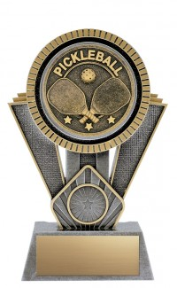 "Apex Pickleball, 7"" Antique Silver/Gold"