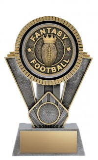 "Apex Fantasy Football, 7"" Antique Silver/Gold"