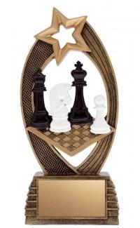 "Chess Velocity Resin, 8"""