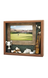 Golf Resin Shadowbox